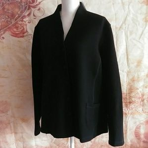 Eileen Fisher High Collar Jacket plus size 1X New